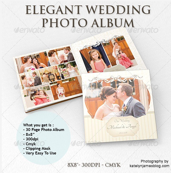 photo album4 10 Creative Photo Album Templates You Should Use In This Wedding Season