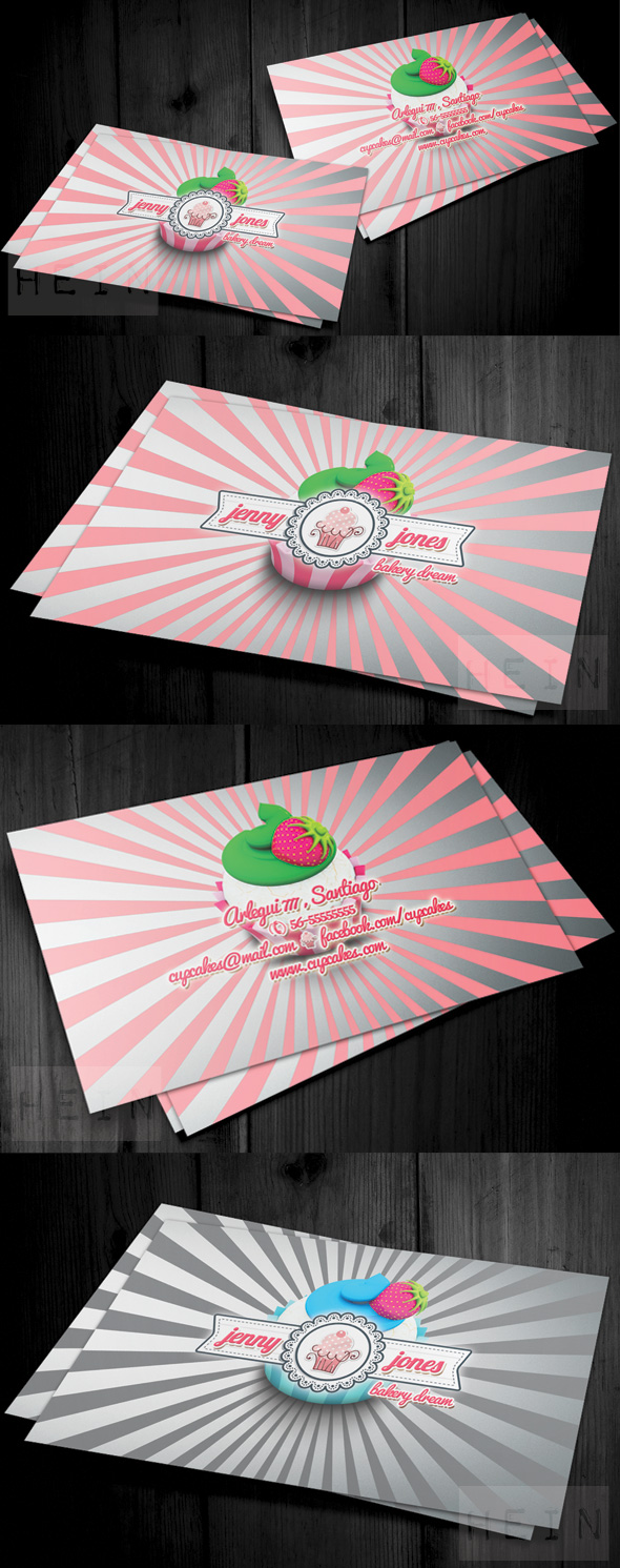 preview1 Bakery and Cupcakes Business Card
