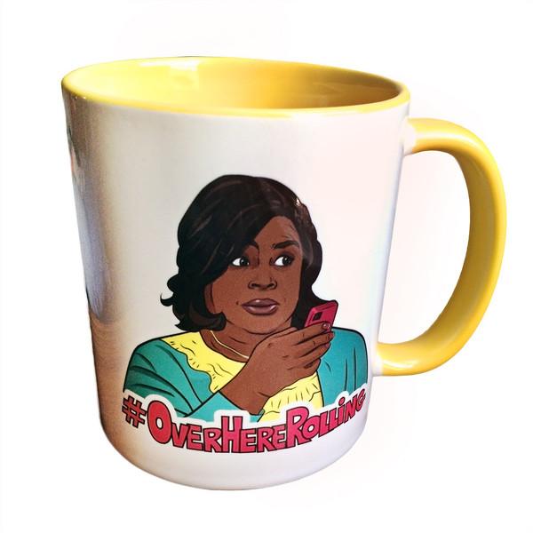 retta donna mug 01 grande Retta aka Donna Meagle Mug by PeachyApricot