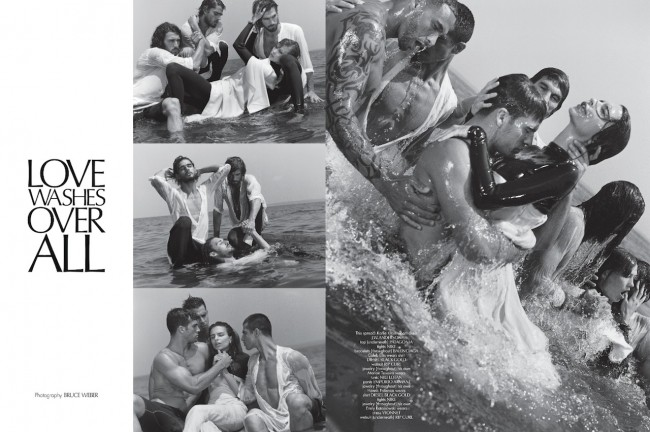 tumblr msm0s8MOz11rf43pdo1 1280.png 650x432 Emily Ratajkowski and Karlie Kloss by Bruce Weber