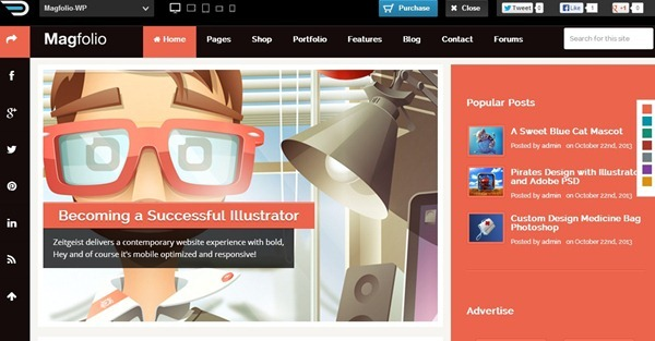 wordpress themes 35 Best WordPress Themes : November 2013 Edition