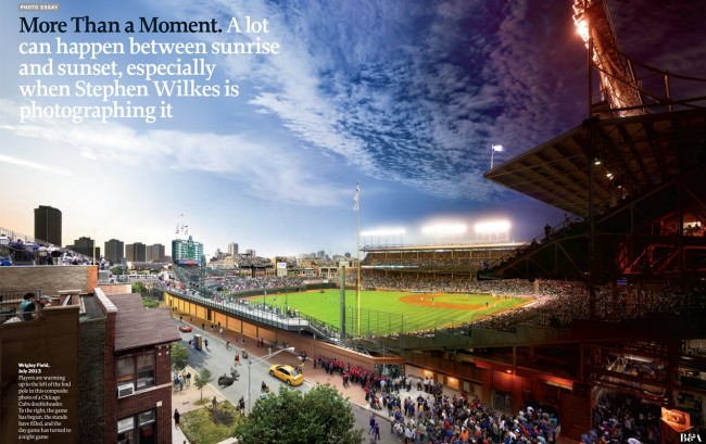 xwilkesh 650x409 TIME Debuts Stephen Wilkess Day to Night at Wrigley Field
