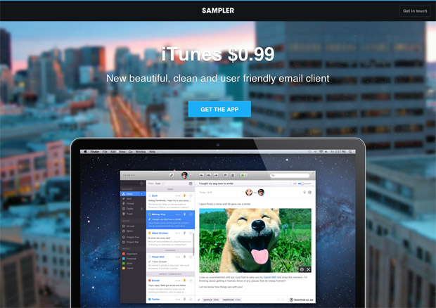 02 landing Stylish, Premium Landing Page Themes