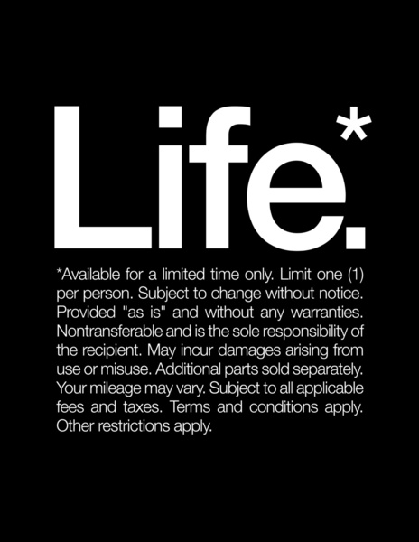 1940579 14301314 lz Life. Available For A Limited Time Only. New Year Inspiration by WORDS BRAND™