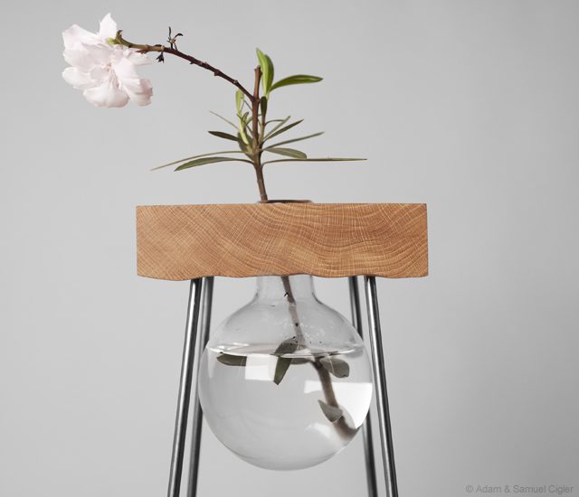 1o5 Flower table by Adam & Samuel Cigler