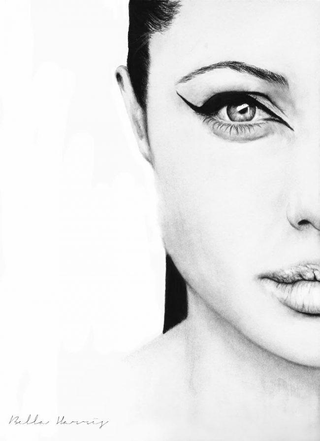Bella Harris Art Minimal Jolie1 650x894 Art and Photography by Bella Harris