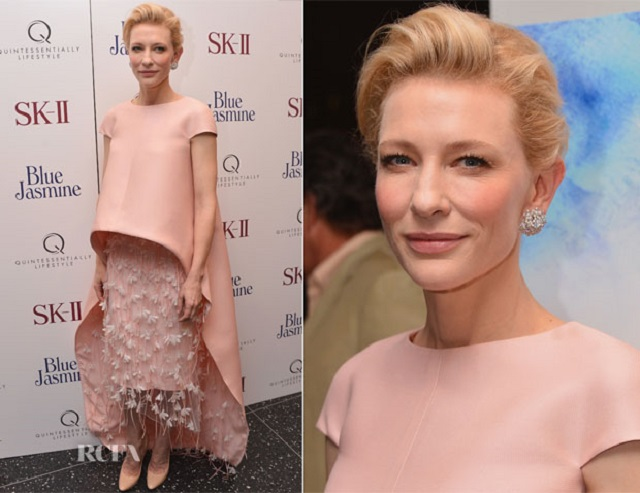 Cate Blanchett In Balenciaga best dressed celebrities 2013 mydesignweek Best Dressed Celebrities of 2013