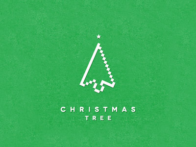 Christmas tree logo Christmas & Holiday Inspired Logo Designs