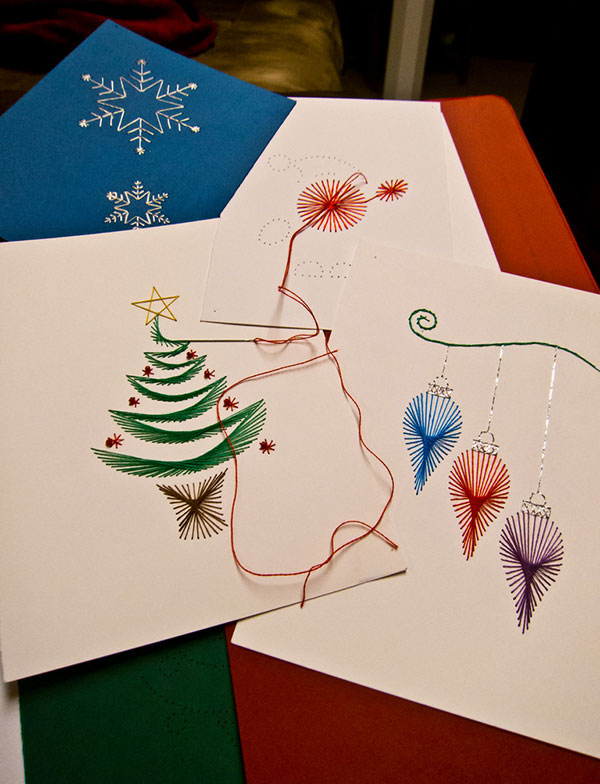 Do it yourself Christmas Card Ideas 50+ Beautiful Diy & Homemade Christmas Card Ideas