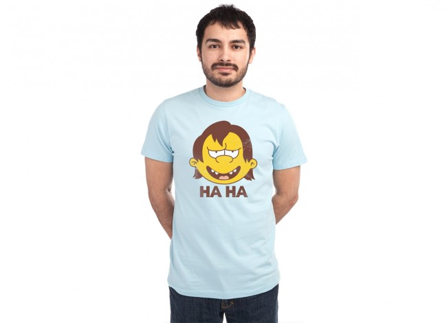 Double Ha Threadless.com Best t shirts in the world files 650x470 Simpsons T shirt Designs From Threadless