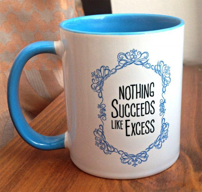 Dowager mug 650x620 Downton Abbey Tea Time