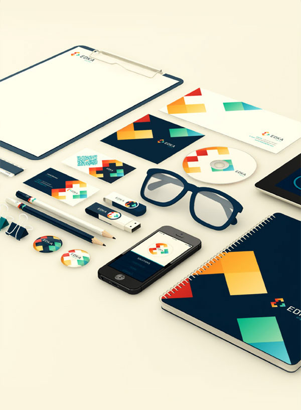 Edka Digital Brand Identity 3 Edka Digital – Brand Identity by Vio Pintilie