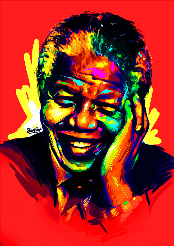 FanArt Tribute Mandela 3 20+ best fanart tribute to Nelson Mandela