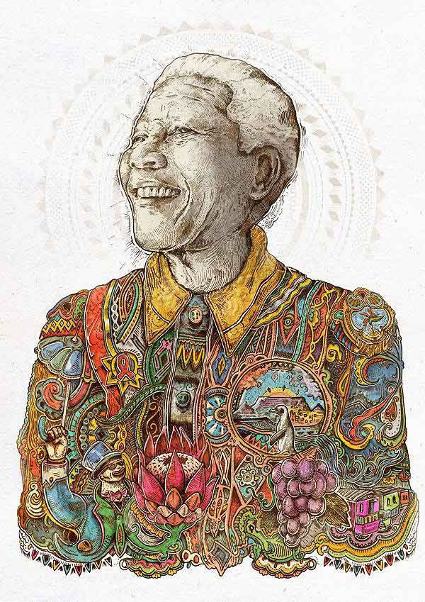 FanArt Tribute Mandela 4 20+ best fanart tribute to Nelson Mandela
