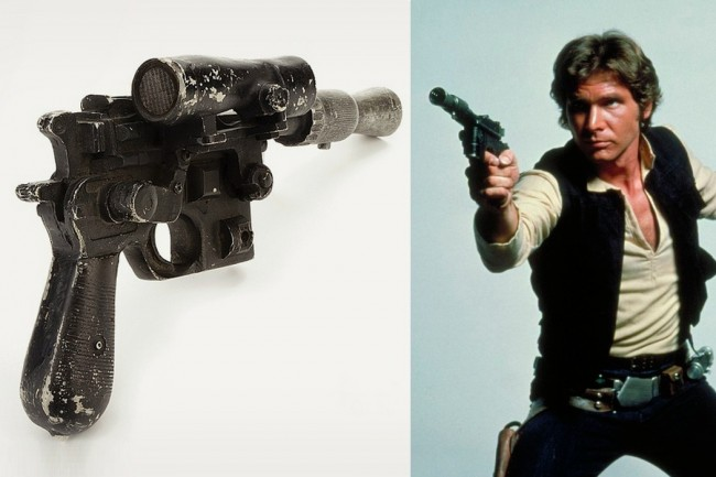 Han Solos Blaster From Star Wars Up For Bid 21 650x433 Han Solo`s Blaster From Star Wars Up For Bid