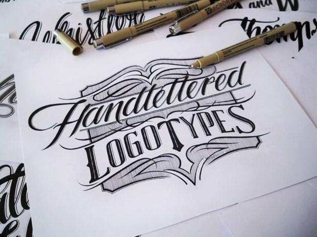 Impressive Hand lettering Logo Design 1 Impressive Hand lettering Logo Design