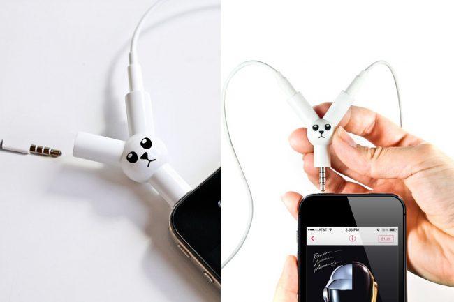 Jack Rabbit Headphone Splitter 4 650x433 Jack Rabbit Headphone Splitter