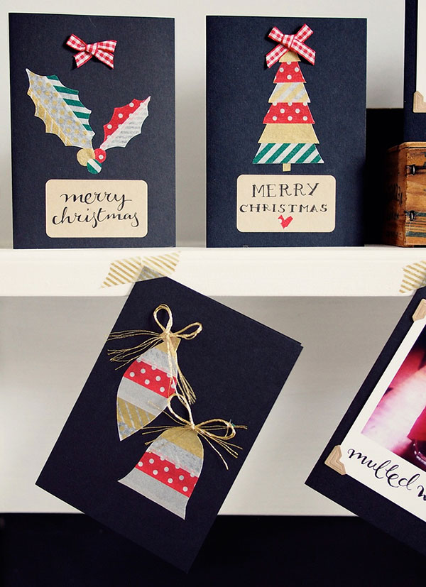 Let it Snow Diy Christmas card Ideas 3 50+ Beautiful Diy & Homemade Christmas Card Ideas