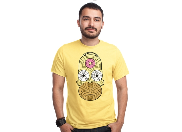 Mmmmmm Aze Design by Dianne Delahunty man The Simpsons – Threadless T shirt Collection