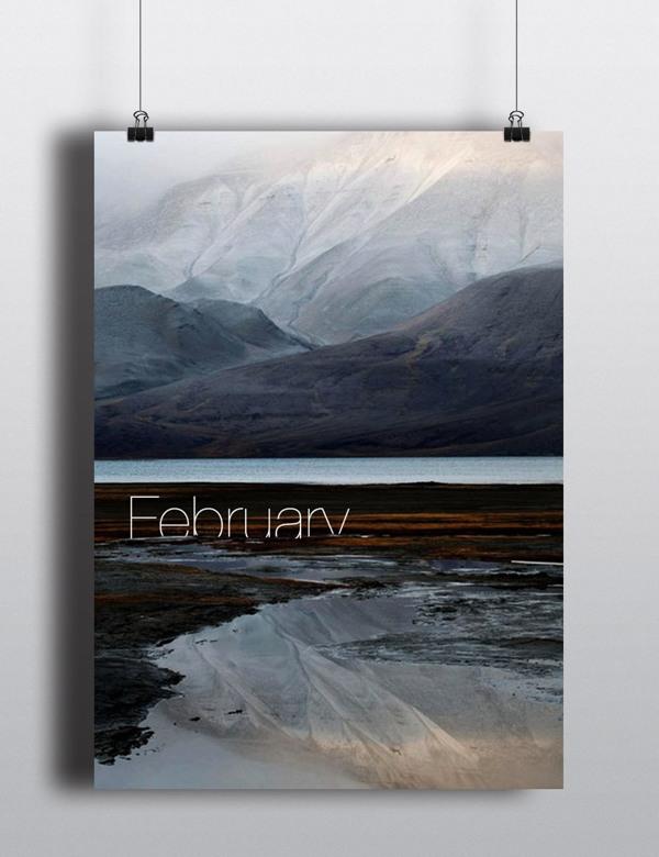 Perpetual Calendar Arina Pozdnyak 1 Landscape Perpetual Calendar