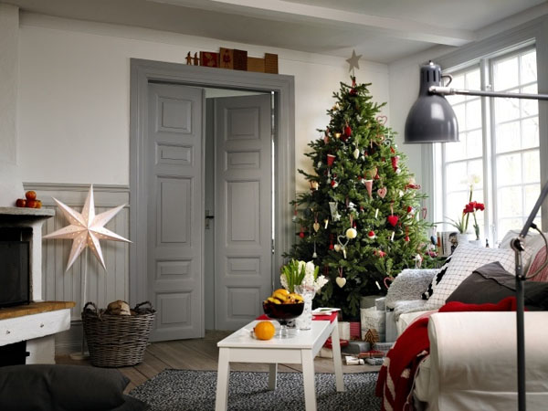 Scandinavian Christmas Decorating Ideas 03 1 Kindesign 73 Brilliant Scandinavian Christmas decorating ideas