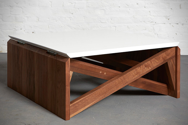 Table 1 MK1 Transforms From Coffee to Dining Table