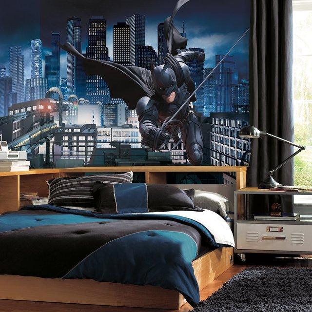 The Dark Knight Rises Prepasted Batman Mural The Dark Knight Rises Prepasted Batman Mural