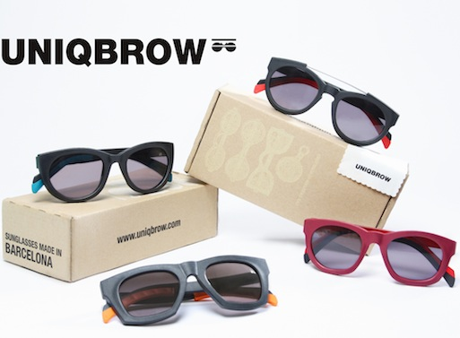UNIQBROWss copy1 Interchangeable and Unbreakable sunglasses made in Barcelona