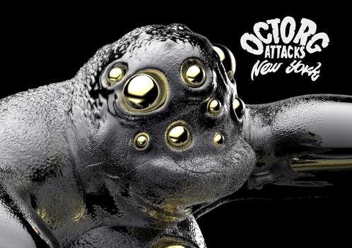 behance.49 copy OCTRORG ATTACKS NEW YORK (designer toy) by Chris Rw
