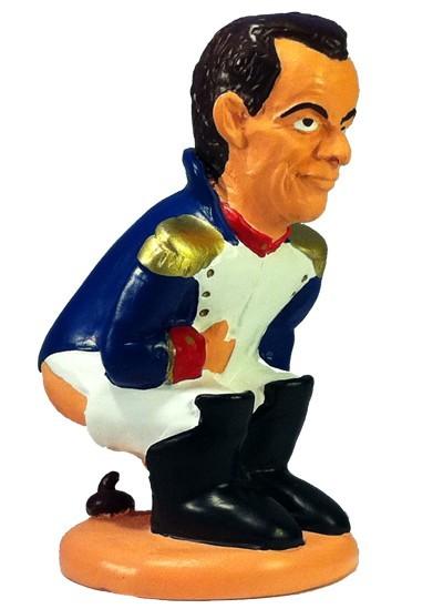 caganer nicolas sarkozy Caganer Nicolas Sarkozy (versión Napoléon)