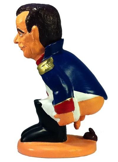 caganer nicolas sarkozy2 Caganer Nicolas Sarkozy (versión Napoléon)