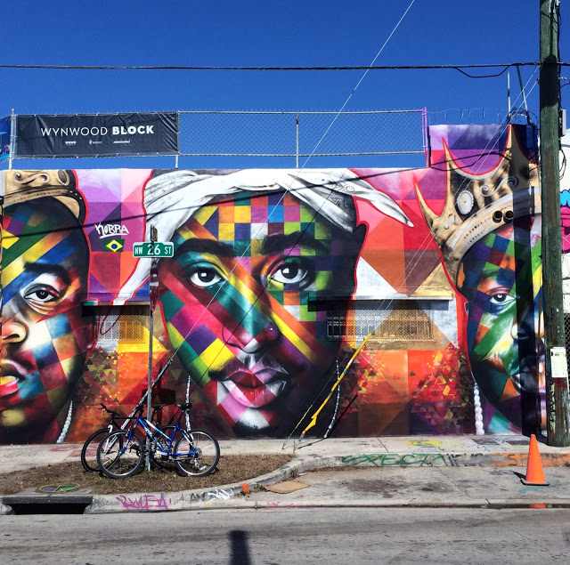 kobra miami big pac 01 2Pac and Biggie Tribute Mural by Eduardo Kobra for Art Basel 2013 // Wynwood, Miami