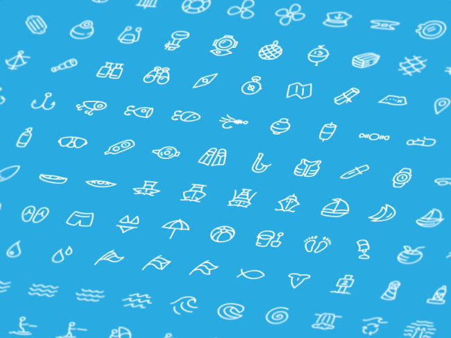 oceanica 650x487 A Collection of Useful, Free Icon Sets