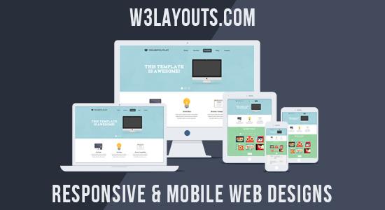 02 1 11 Free, Premium, Quality & Responsive HTML5 CSS3 Web Templates