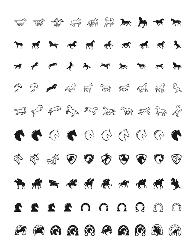 100 horse icons 100 Free High Quality Horse Icons