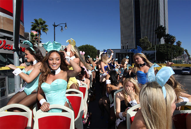 1053 Bunnies on Parade to Celebrate 60 Years of Playboy