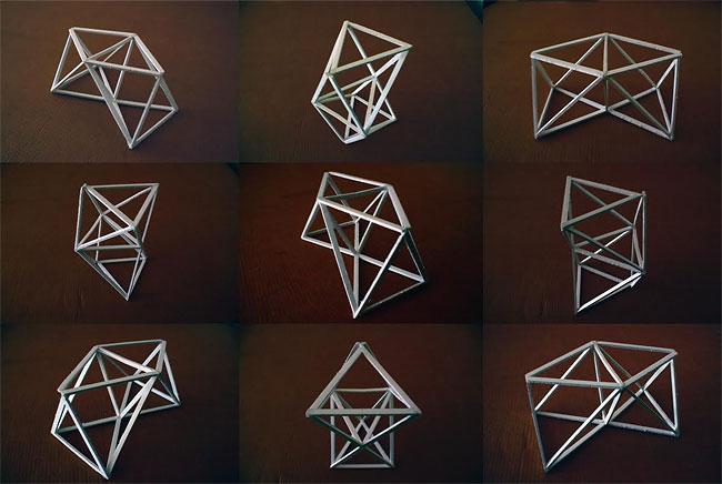 1130 Octahedrons by Benjamin Migliore