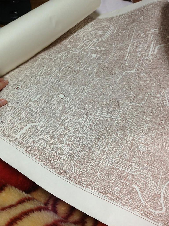 1175 Dad Spends 7 Years on Incredibly Detailed Maze!