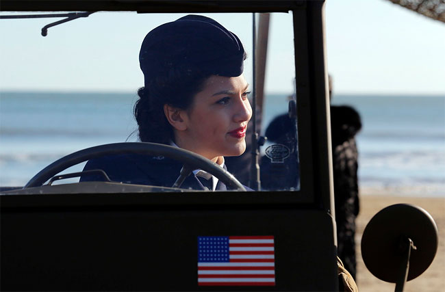 1348 WWII Landings Re enacted in Italy on 70th Anniversary