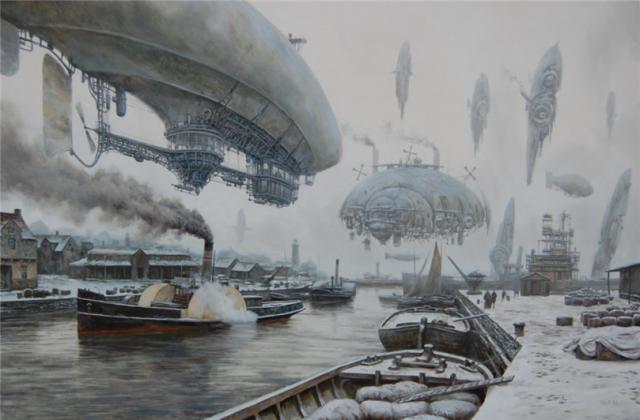 1355293687 3 640x420 Steampunk Illustrations by Vadim Voitekhovitch