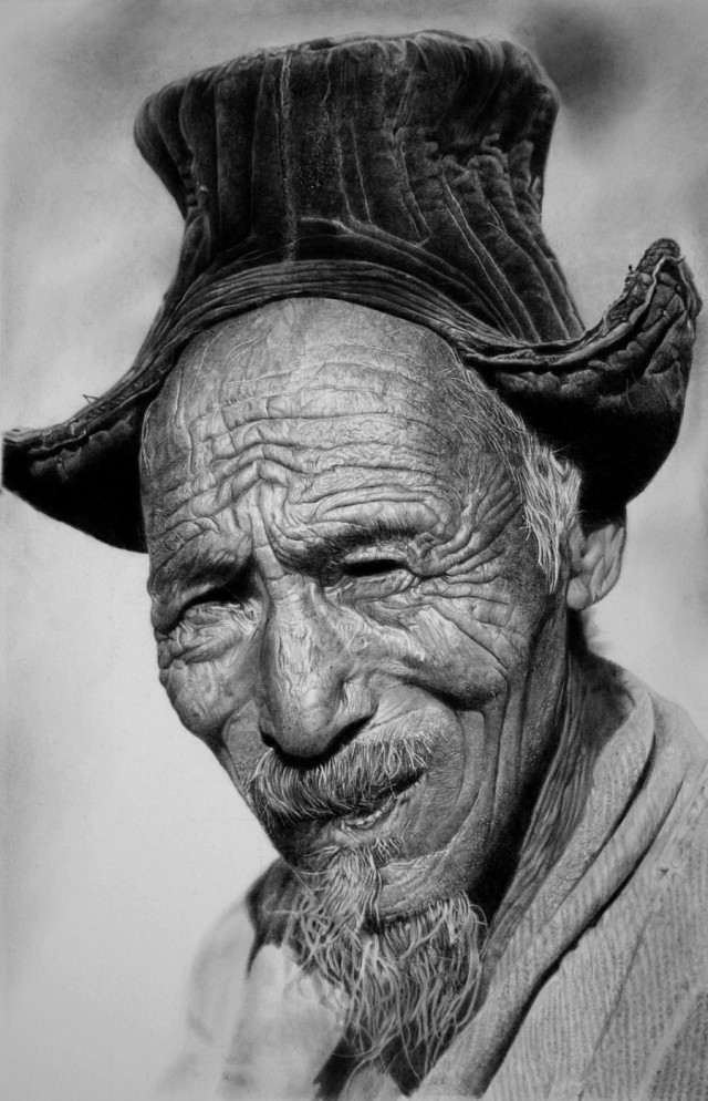 1355737965 3a 640x994 Photorealistic Pencil Drawings by Franco Clun