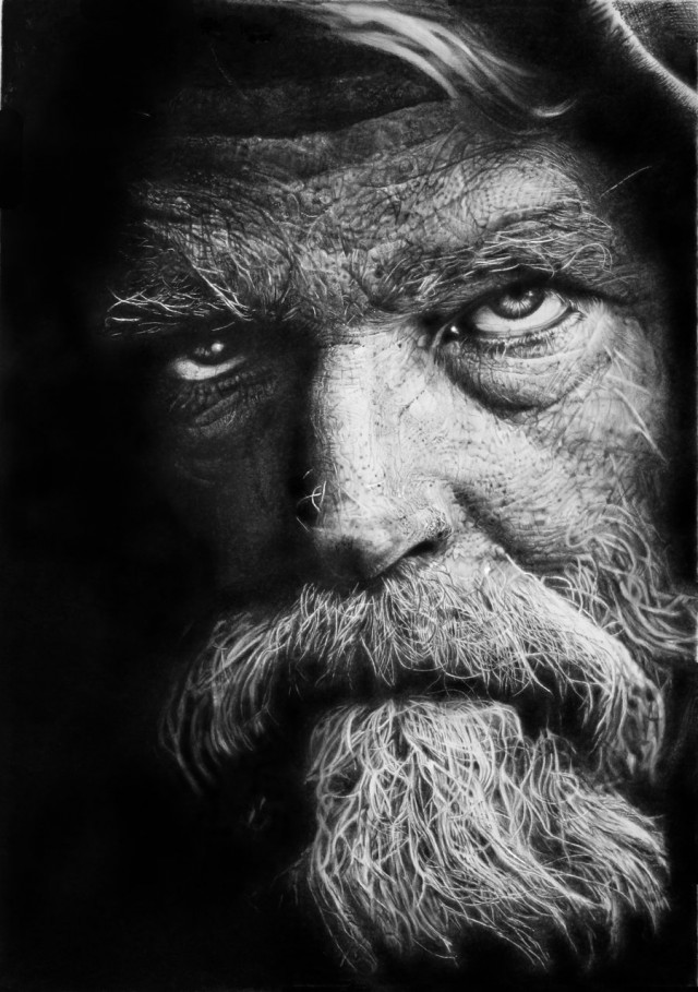 1355738015 2 640x909 Photorealistic Pencil Drawings by Franco Clun
