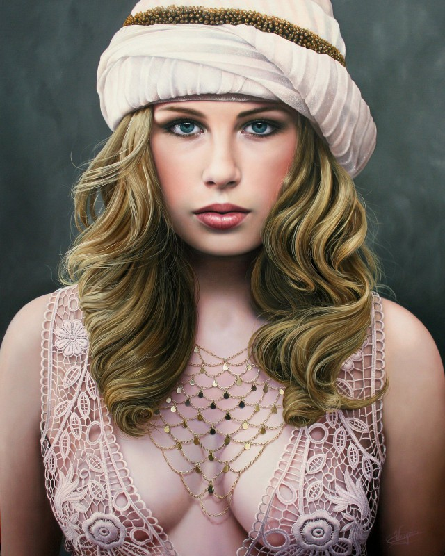 1358404251 5 640x800 Hyper realistic Oil Paintings by Christiane Vleugels