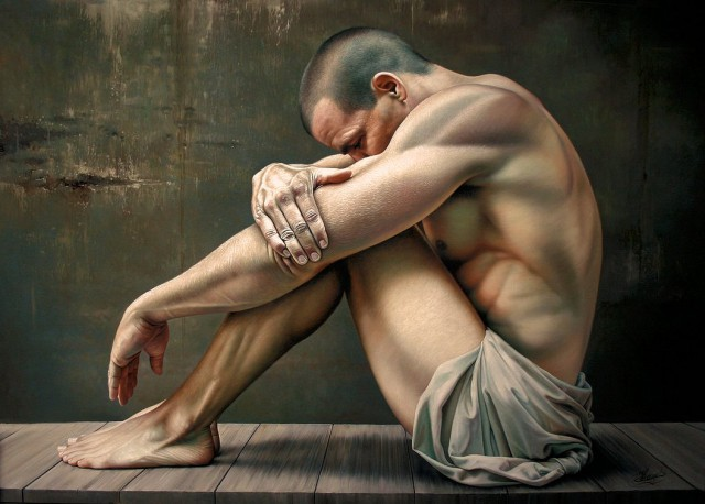 1358404287 1 640x458 Hyper realistic Oil Paintings by Christiane Vleugels