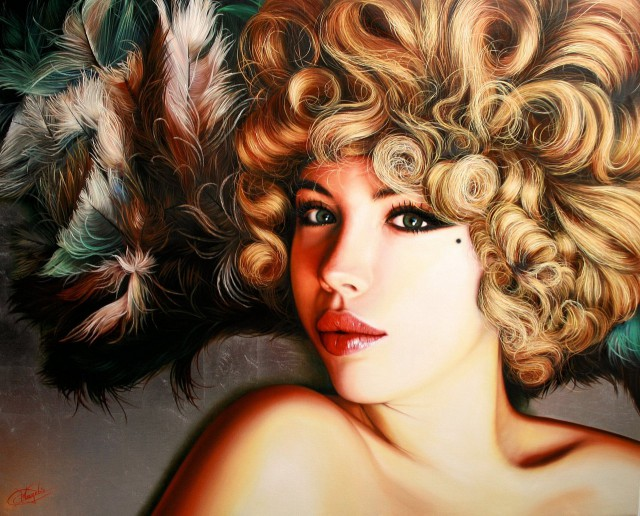 1358404319 7 640x516 Hyper realistic Oil Paintings by Christiane Vleugels