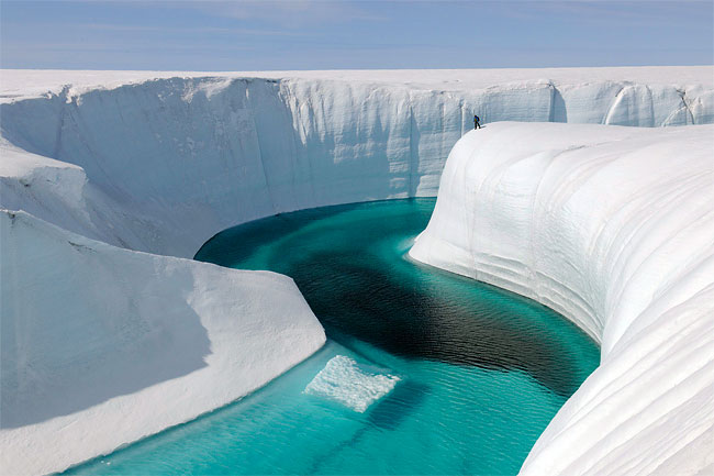 150 Birthday Canyon in Greenland