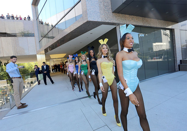 1624 Bunnies on Parade to Celebrate 60 Years of Playboy