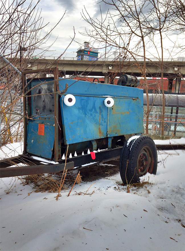 188 Outdoor Objects Transformed into Googly Eyed Faces