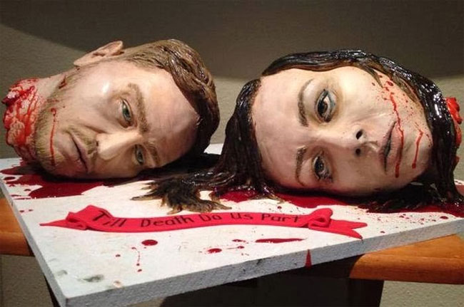 2173 The Most Gruesome Wedding Cake Ever