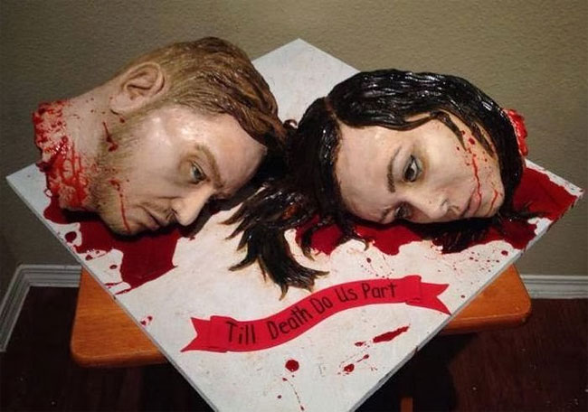 3150 The Most Gruesome Wedding Cake Ever